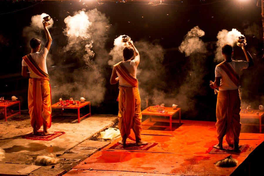 Aarti cermeony Varanasi