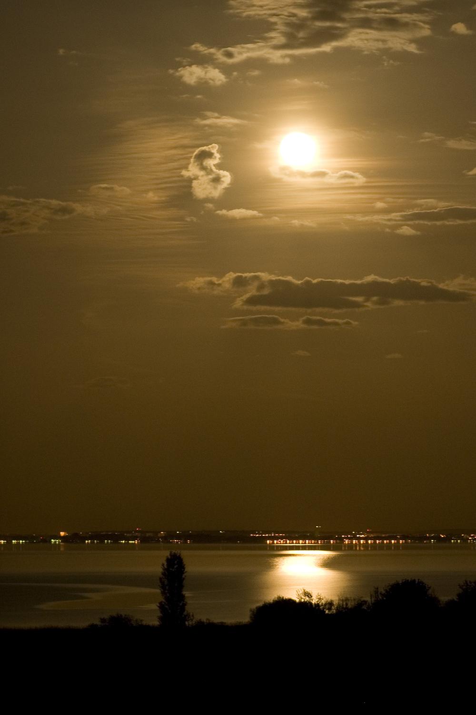 Lake Balaton at sunset