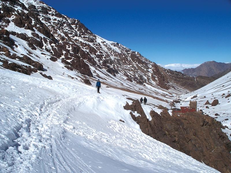 Winter Toubkal / Darren Conde