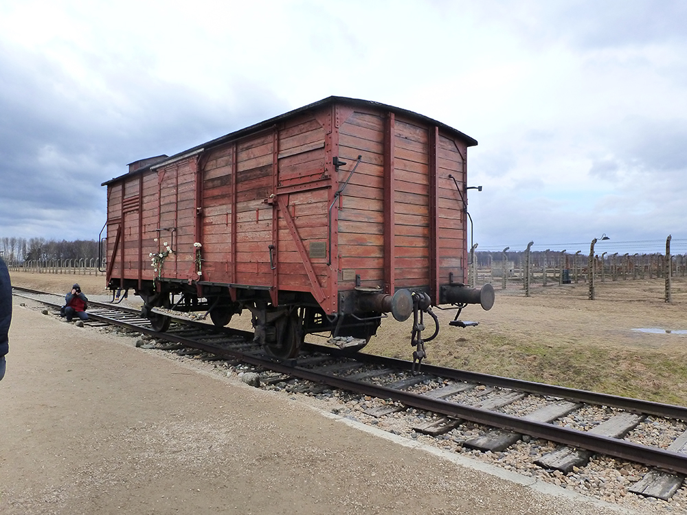 Train Carriage at Aushwitz