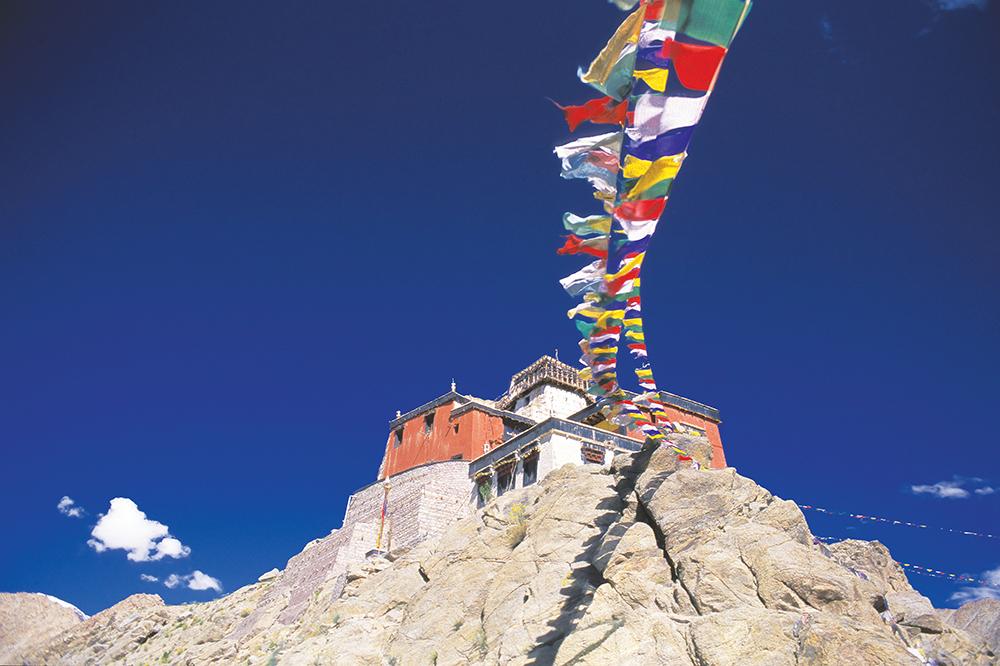 Buddhist Monastery, Leh