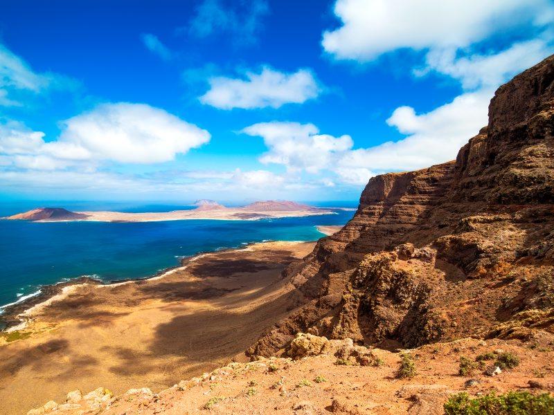View to La Graciosa