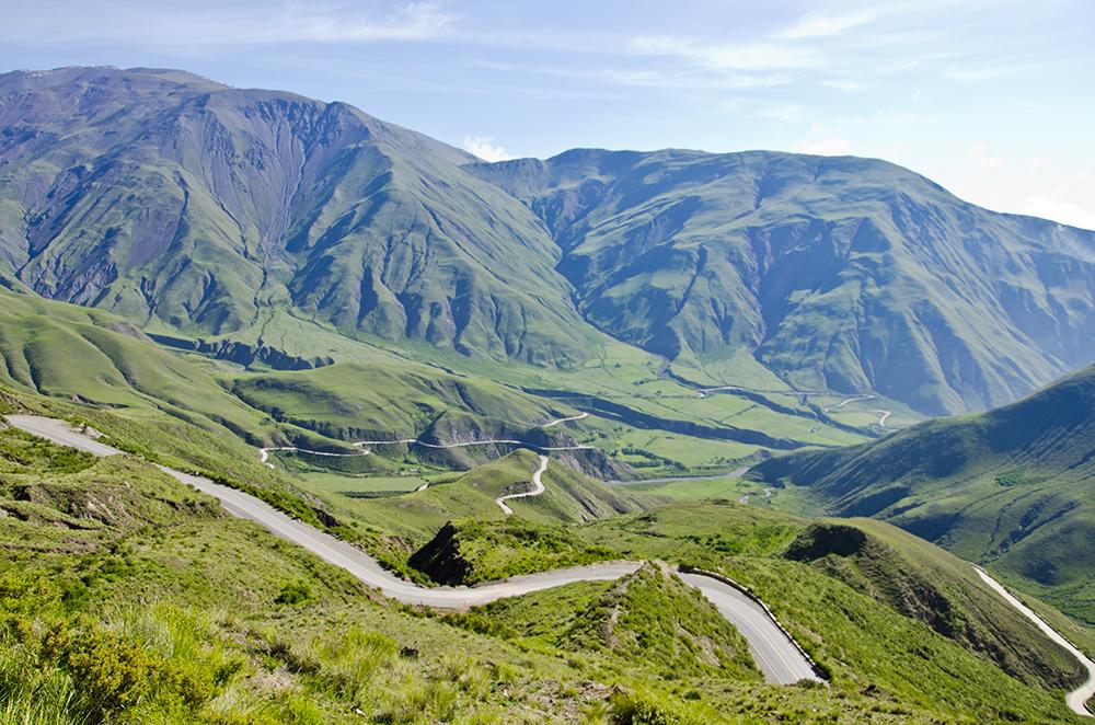 'Bishop's Hill' road in Northwest Argentina
