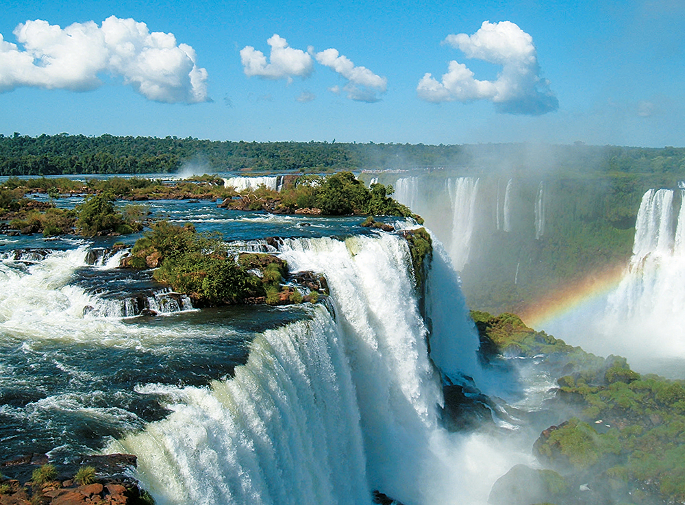 Spectacular Iguazu Falls