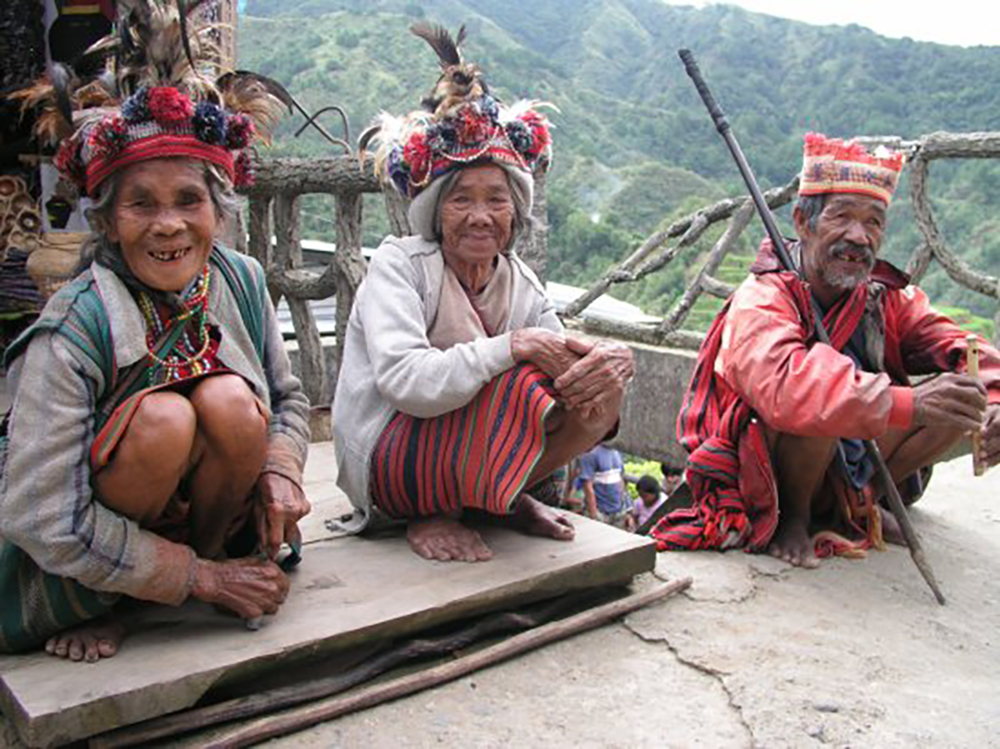 Ifuago Tribes people, Banaue