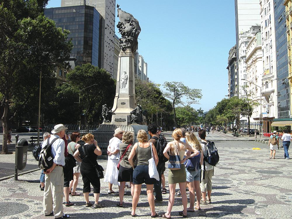 Exploring Rio city centre