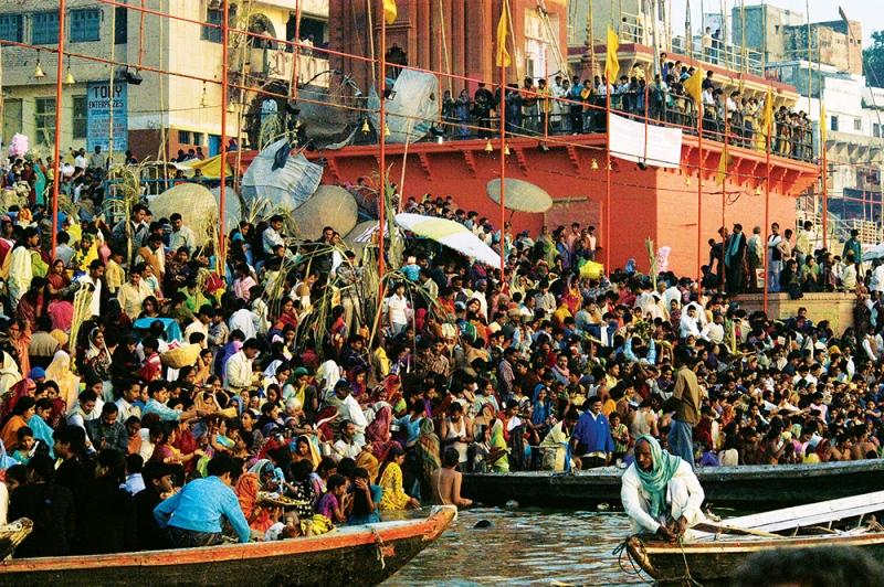 Sacred waters of the Ganges, Varanasi