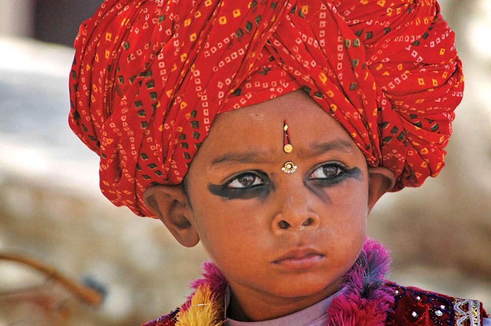 Rajasthani boy,Jodhpur / Kieran D. Murray