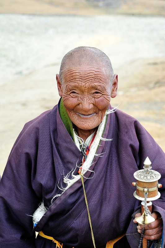 Ancient Tibetan Nomad
