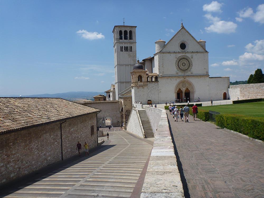 St Francis' Basilica, Assisi