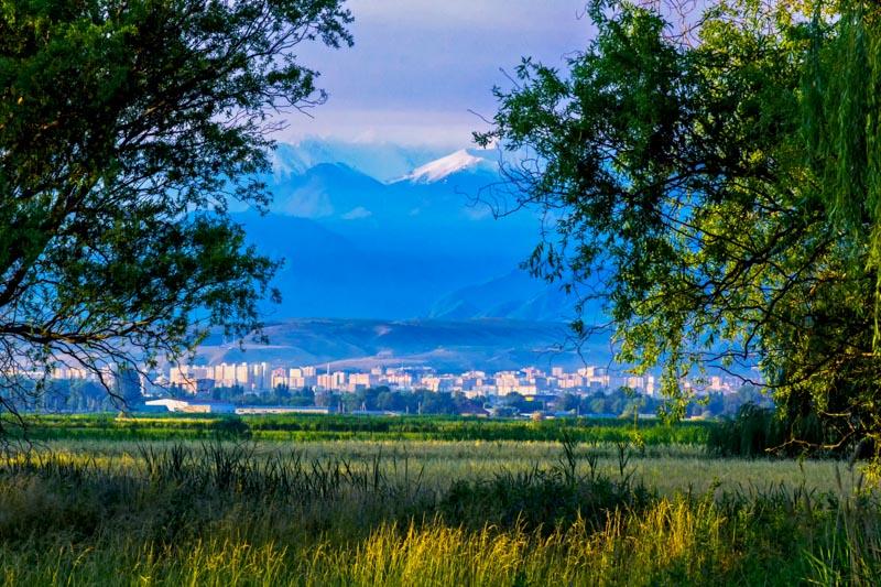 Bishkek, capital of Kyrgyzstan
