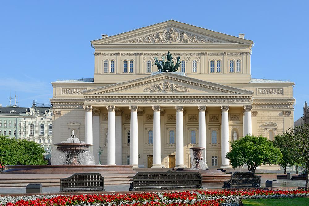 Bolshoi Theatre in summer