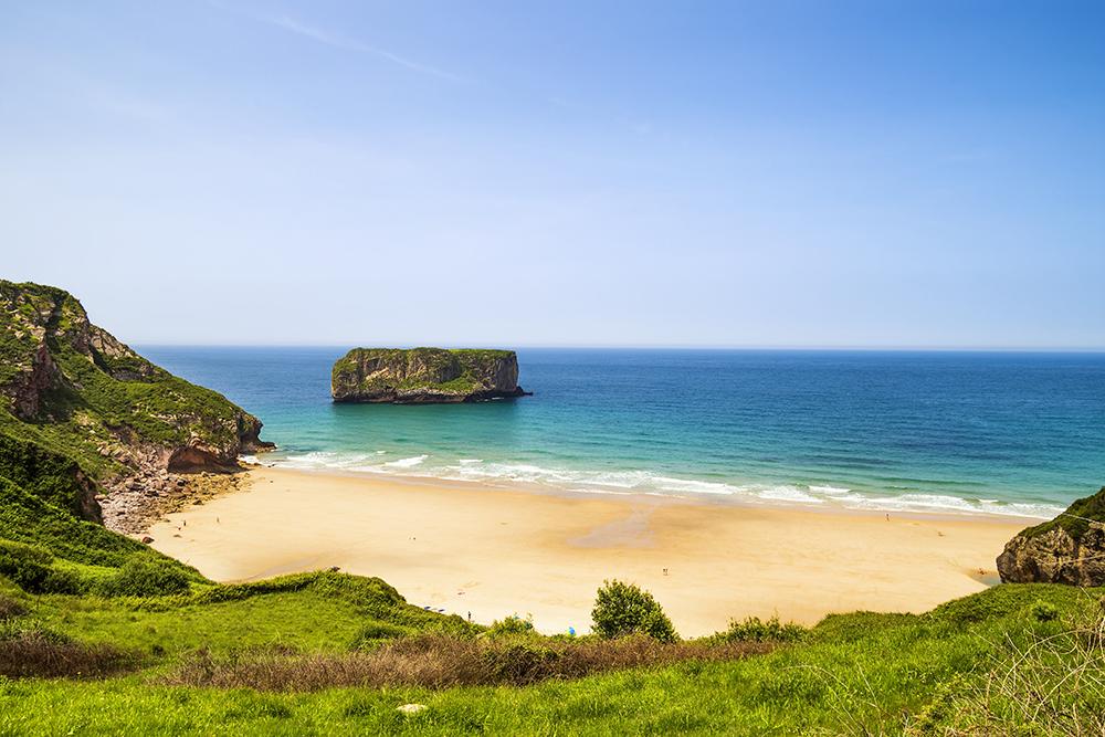 Andrin Beach near Llanes