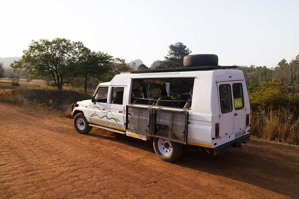 4x4 Game viewing vehicle